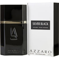 AZZARO-SILVER BLACK EAU DE TOILETTE SPRAY 100ML/3.4OZ