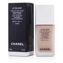 Chanel Le Blanc Light Revealing Whitening Fluid Foundation SPF 30 - # 30 Beige 30ml/1oz