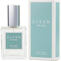 Clean-MEN EAU DE TOILETTE SPRAY 30ml/1OZ