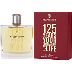 VICTORINOX-125 YEARS EAU DE TOILETTE SPRAY 100ML/3.4OZ