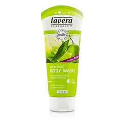 Lavera Organic Lime & Verbena Refreshing Body Wash 200ml/6.6oz