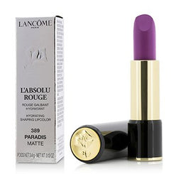 Lancome L' Absolu Rouge Hydrating Shaping Lipcolor - # 389 Paradis (Matte) 3.4g/0.12oz