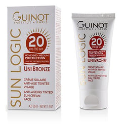 Guinot Sun Logic Uni Bronze Anti-Ageing Tinted Sun Cream For Face SPF 20 50ml/1.4oz