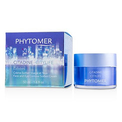 Phytomer Citadine Citylife Face And Eye Contour Sorbet Cream 50ml/1.6oz