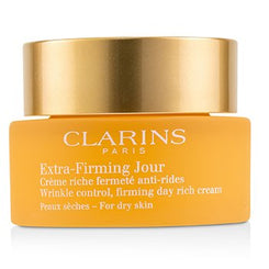 Clarins Extra-Firming Jour Wrinkle Control, Firming Day Rich Cream - For Dry Skin (Unboxed) 50ml/1.7oz