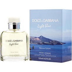 Dolce & Gabbana-D & G LIGHT BLUE DISCOVER VULCANO POUR HOMME EAU DE TOILETTE SPRAY 125ml/4.2OZ (LIMITED EDITION)