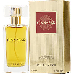 ESTEE LAUDER-CINNABAR EAU DE PARFUM SPRAY 50ML/1.7OZ (NEW GOLD PACKAGING)