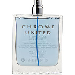 AZZARO-CHROME UNITED EAU DE TOILETTE SPRAY 100ML/3.4OZ *TESTER