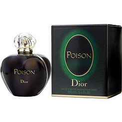CHRISTIAN DIOR-POISON EAU DE TOILETTE SPRAY 100ML/3.4OZ (NEW PACKAGING)