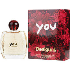 DESIGUAL-YOU EAU DE TOILETTE SPRAY 100ML/3.4OZ