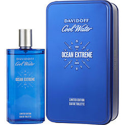 DAVIDOFF-COOL WATER OCEAN EXTREME EAU DE TOILETTE SPRAY 200ML/6.7OZ (LIMITED EDITION TIN)