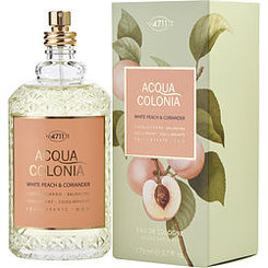 4711-ACQUA COLONIA WHITE PEACH & CORIANDER EAU DE COLOGNE SPRAY 170ML/5.7OZ