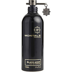 MONTALE-PARIS BLACK AOUD EAU DE PARFUM SPRAY 100ML/3.4OZ *TESTER