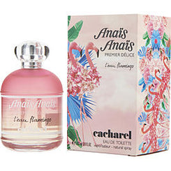 CACHAREL-ANAIS ANAIS PREMIER DELICE L'EAU FLAMINGO EAU DE TOILETTE SPRAY 100ML/3.4OZ *TESTER