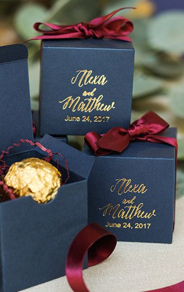 This Week's Theme- Wedding Favors for Guest- 10-2-17