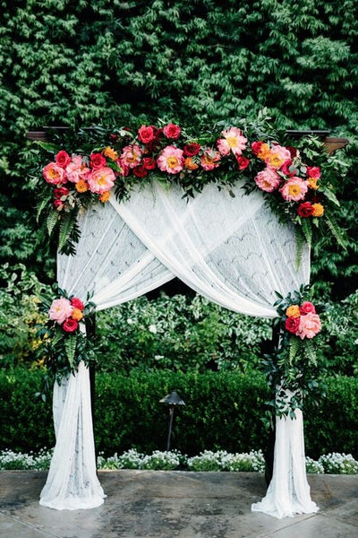 Hump Day! Out of the Ordinary Wedding Arches