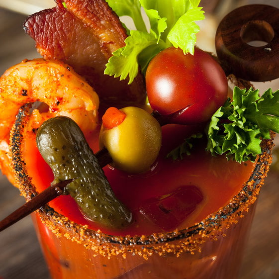 Dragon's Breath Bloody Mary