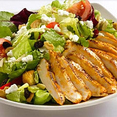 Peach Melba Chicken Salad
