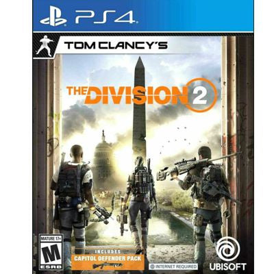Tom Clancy The Division 2 PS4 Digital Code