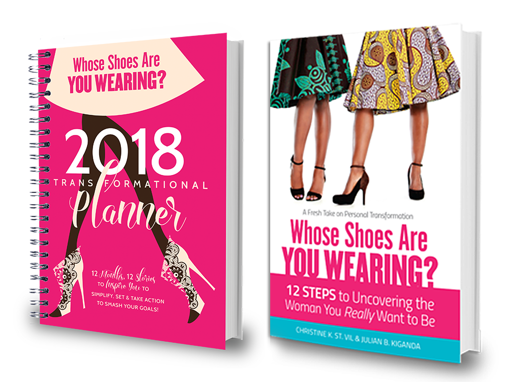 2018 Whose Shoes Planner + Book Bundle