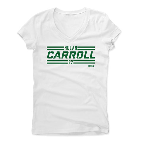 Womens Women's V-Neck White