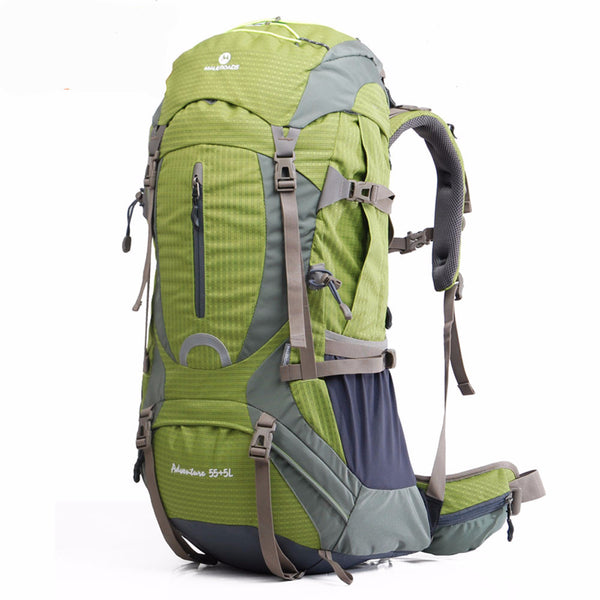 Professional Mountaineering Backpacks in 50L 60L Sizes