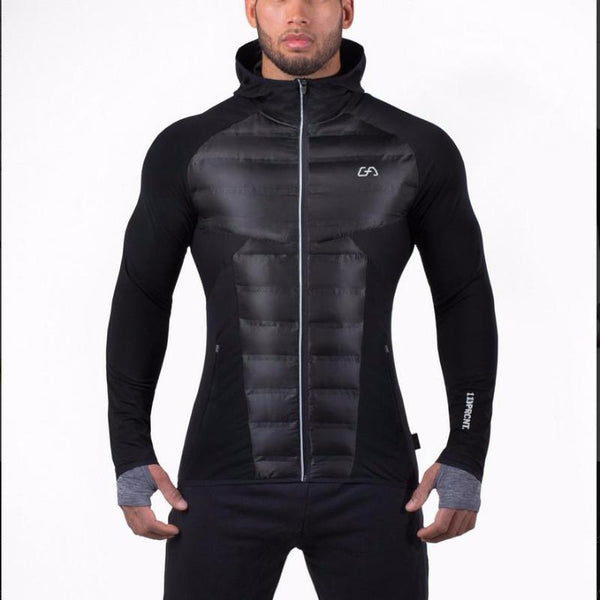 "Men's SurvivAlive ""110PRCNT"" Fitness Fashion Jacket Hoodie"