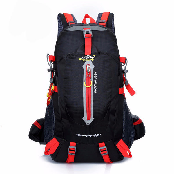 40L Unisex Waterproof Outdoor Backpack for Travel, Mountain Climbing, and Camping