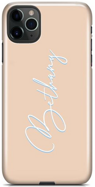 Nude Handwriting Phone Case