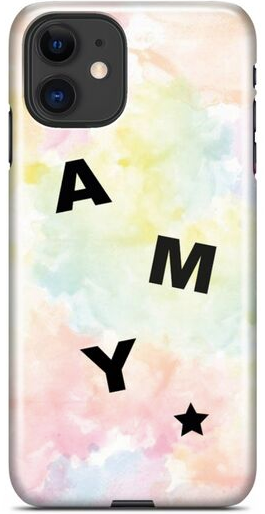 Tie Dye Scatter Name Case