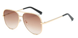 Florence Gold Sunglasses