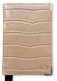 Camel Croc Passport Cover