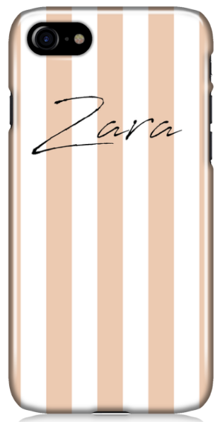 Nude Striped Phone Case