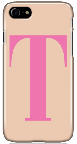 The Nude Initial Phone Case