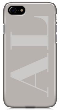 Grey on Grey Phone Case