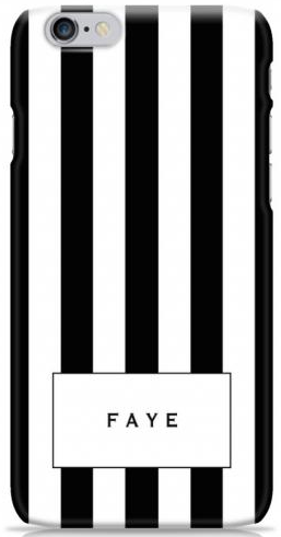 The Mono Stripe Phone Case