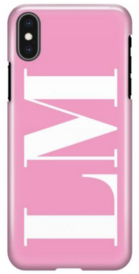 Pink Initial Phone Case