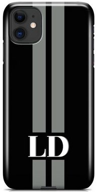 The Stripe Monogram Phone Case