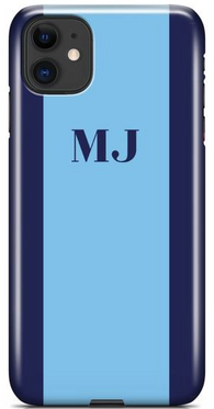 Two-tone Blue Phone Case