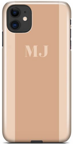 Two-tone Nude Phone Case