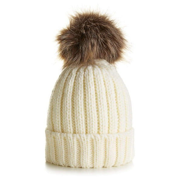 Little Bobble Hat - Cream