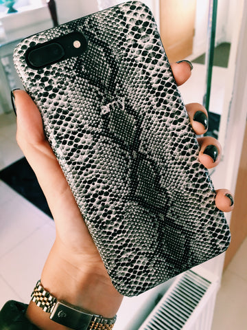 Snake Leather Phone Cover