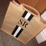 Handpainted Jute Bag