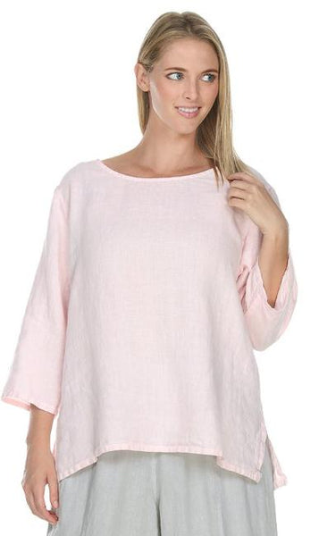 fe503c9620d Match Point Medium Weight 3 4 Sleeve Round Neck Top LT10R - Sale on Select