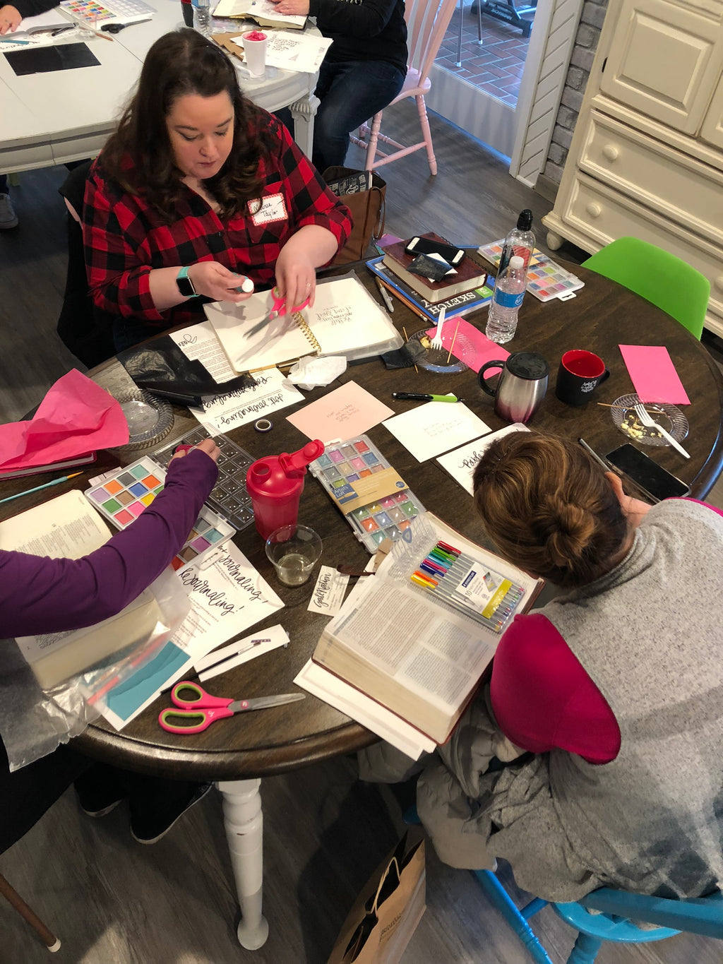 Art & Bible Journaling Class - February 2019