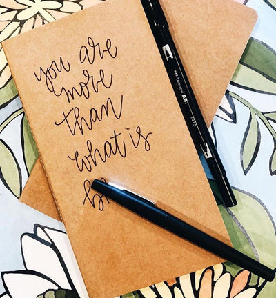 Shop my lettering supplies