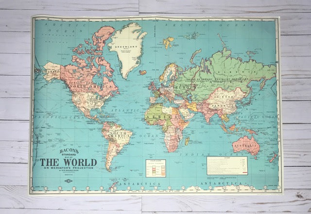Oh the places youll go 20x28 blue world map gale nation oh the places youll go 20x28 blue world map gumiabroncs Choice Image