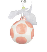 """BABY GIRL'S FIRST CHRISTMAS"" ORNAMENT - Personalize this!"