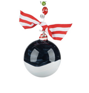 """DOG HOUSE CHRISTMAS"" ORNAMENT - Personalize this!"