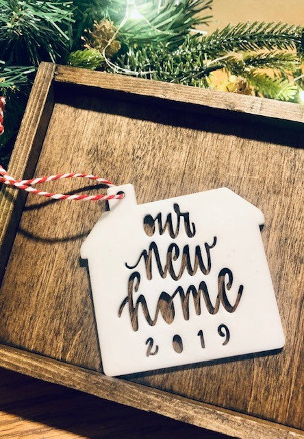 OUR NEW HOME 2019 - ACRYLIC ORNAMENT